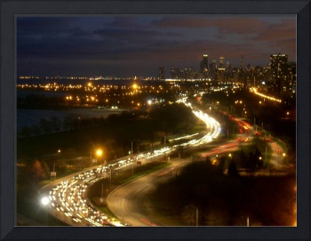 Lake Shore Drive Night