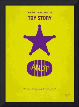 No190 My Toy Story minimal movie poster