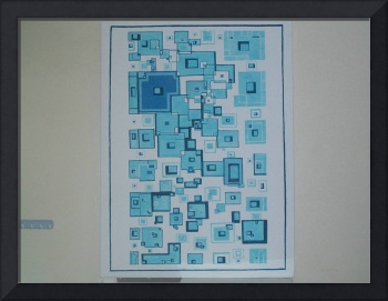 blue boxes and cubes