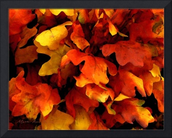 Expressive Autumn Leaves 8-15-15