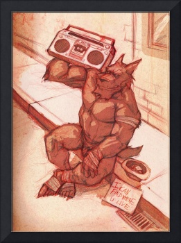 Werewolf with a Boombox