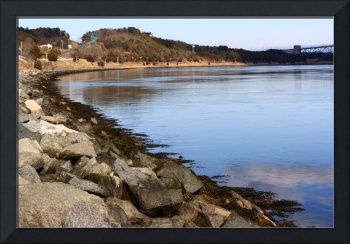 Cape Cod Canal View of Water