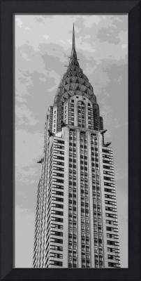 Chrysler Building B/W