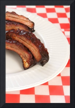 Babyback barbeque pork ribs (2)