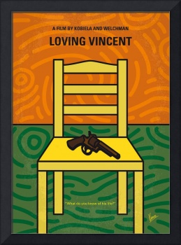 No903 My Loving Vincent minimal movie poster
