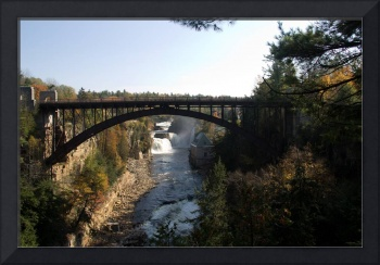Arch Bridge over Ausable Chasm