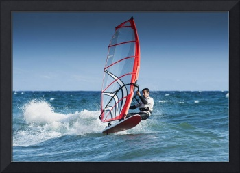 Windsurfing Off The Coast At Hotel Dos Mares, Tari