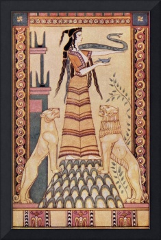 The Snake Goddess of Crete