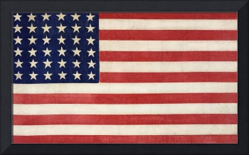 The Thirty-Six Star Flag of the United States of A