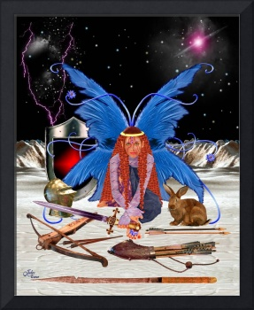 Fairy Warrior Queen Boadicea - Celtic
