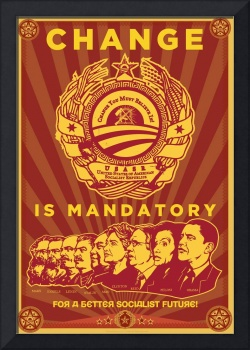 Change Is Mandatory Obama Spoof