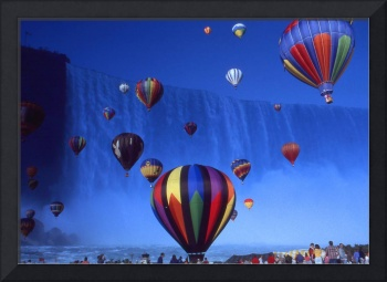 Niagara Balloons - Photo Art Collage