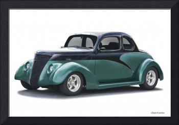 1937 Ford Club Coupe I