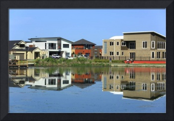 Suburb reflections