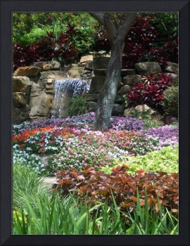Waterfall Garden (Flowered Garden)