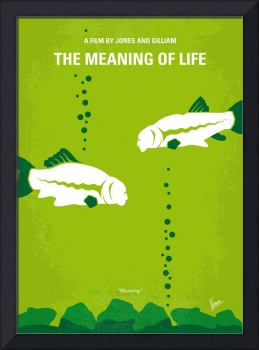 No226 My The Meaning of life minimal movie poster