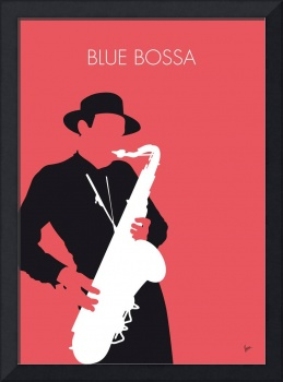 No302 MY Dexter Gordon Minimal Music poster