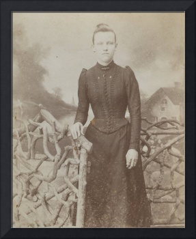 Young Lady in the 1890's