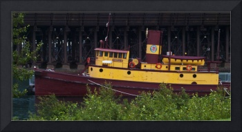The Edna G at Two Harbors