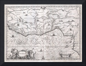 Map of West Africa Ogilby
