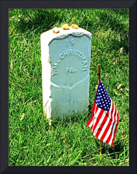 Pvt William Christman, Arlington National Cemetery