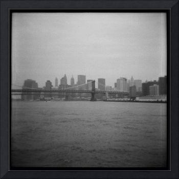 Bridge & NYC Skyline