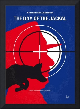 No1087 My The Day of the Jackal minimal movie post