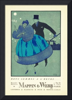 Fashion Poster 1900-1920s Series - 3