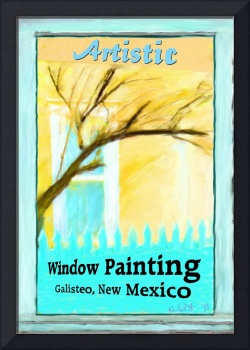 ARTISTIC WINDOW PAINTING