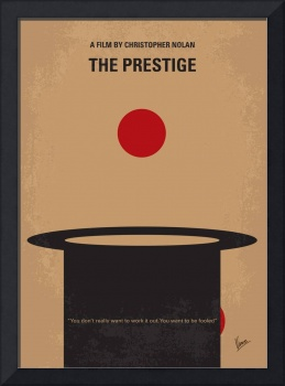 No381 My The Prestige minimal movie poster
