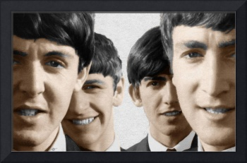 The Beatles Painting 1963 Color