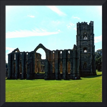 Fountains Abbey in Summer 13