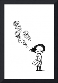 Girl and the Jellyfish