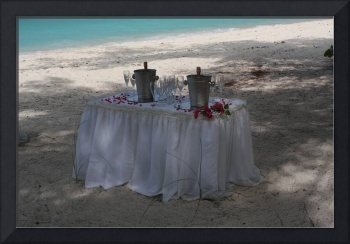 Grand Cayman Reception Table