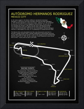 The Autodromo Hermanos Rodriguez