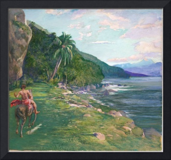 John La Farge, A Bridle Path in Tahiti