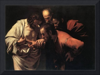Caravaggio The Incredulity Of Saint Thomas