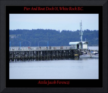 Pier And Boat Dock 01 White Rock BC