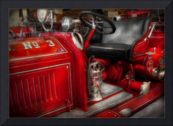 Fireman - Fire Engine No 3