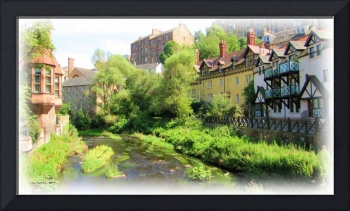 Dean Village and the Waters of Leith