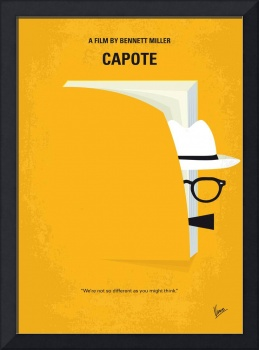 No671 My Capote minimal movie poster
