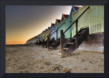 Candy coloured Beach hut Land
