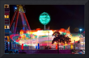 Colorful Carnival  Rides