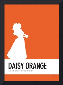 No35 My Minimal Color Code poster Princess Daisy