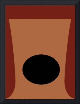 Minimalist Muppets - Rowlf the Dog