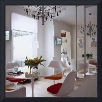 Retro dining room