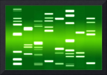 DNA Art Green