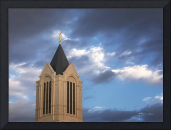 Ft Collins Temple Spire by Kelly Jones