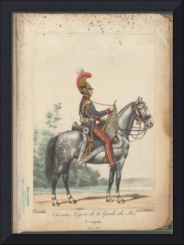 French Soldier in Uniform, France, 1800s - 23