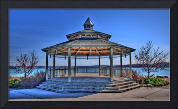 Gazebo on Canandaigua Lake